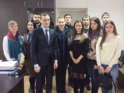 Студенти-магістри побували на Дні відкритих дверей у Господарському суді Дніпропетровської області
