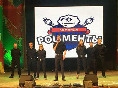 На міжвузівському чемпіонаті КВК «КаВун-2016» команда ДДУВС «Поліменти» здобула 3 місце