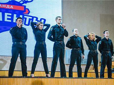 Команда КВК Дніпропетровського державного університету внутрішніх справ - на «Лізі Сміху-2017»