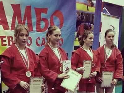 Курсантка ДДУВС здобула титул чемпіонки України зі спортивного та бойового самбо