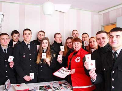 Слухачі магістратури завітали до Товариства Червоного Хреста Шевченківського району міста Дніпра