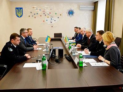 До ДДУВС завітали представники поліції Республіки Литва