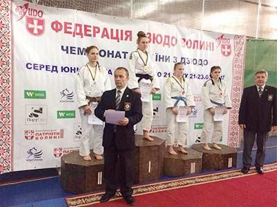 З Чемпіонату України з дзюдо курсантка ДДУВС привезла срібну медаль