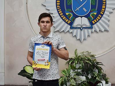На обласних змаганнях з фрі-файту студент-першокурсник став чемпіоном