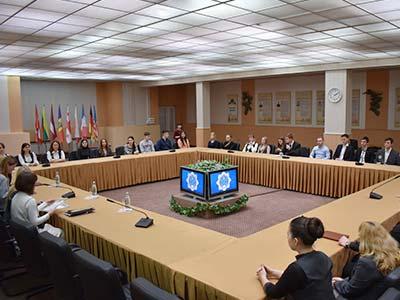 На кафедрі загально-правових дисциплін ДДУВС пройшов круглий стіл за участю радниці голови комітету Верховної Ради України з євроінтеграційних питань Вірджинії Дронової