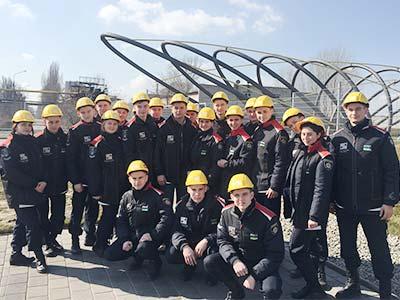 Курсанти ДДУВС на металургійному підприємстві
