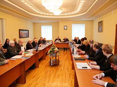 На засіданні президії Національної академії правових наук України