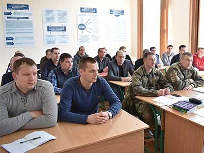 Короткострокове підвищення кваліфікації поліцейських у ДДУВС