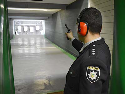 Під час загальноуніверситетських змагань зі стрільби з пістолету «Марголіна»