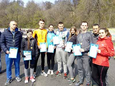 Легкоатлети ДДУВС на Чемпіонаті з легкої атлетики серед ВНЗ МВС України