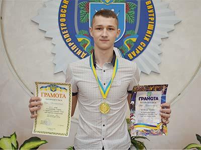 Студент університету став чемпіоном України з рукопашного бою