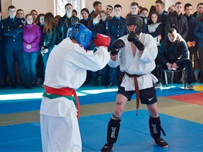 Загальноуніверситетські змагання з рукопашного бою визначили переможців