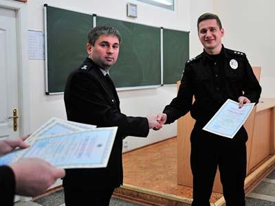 У ДДУВС відбувся черговий випуск дільничних офіцерів поліції