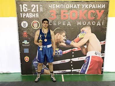 Курсант університету – в числі найсильніших боксерів України