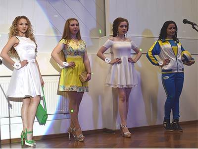 10 міс виходили на біс: в університеті пройшов конкурс краси