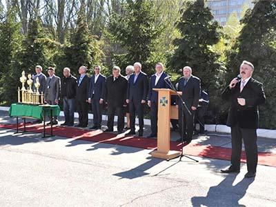 На базі університету пройшов чемпіонат Служби безпеки України зі стрільби з бойової зброї