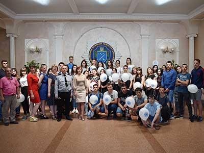 Старшокласники загальноосвітніх навчальних закладів Запоріжської області
