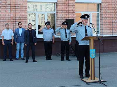 У ДДУВС пройшли святкові урочистості та тематичний флешмоб з нагоди відзначення 21-ї річниці Конституції України