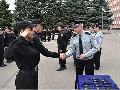 У Дніпропетровському державному університеті внутрішніх справ пройшли урочистості