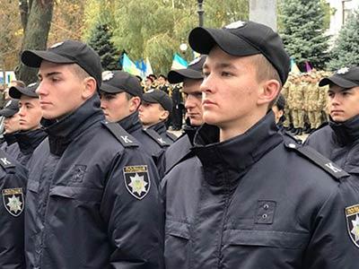Присяги працівника поліції на вірність українському народові