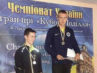 Курсант-першокурсник здобув перемогу зі стрільби кульової на міжнародних змаганнях
