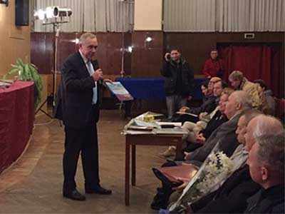 Урочистості з підтримки вчених України