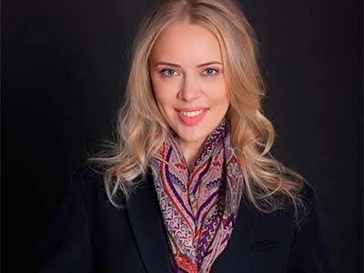 Вітаємо новообраного голову Ради молодих вчених університету – Ірину Грицай!