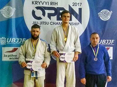 Серед призерів джіу-джитсу – спортсмени Криворізького факультету