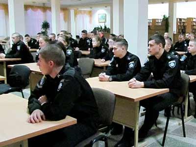 Опанувати секрети професійної майстерності поліцейського допоможуть зустрічі з практичними працівниками