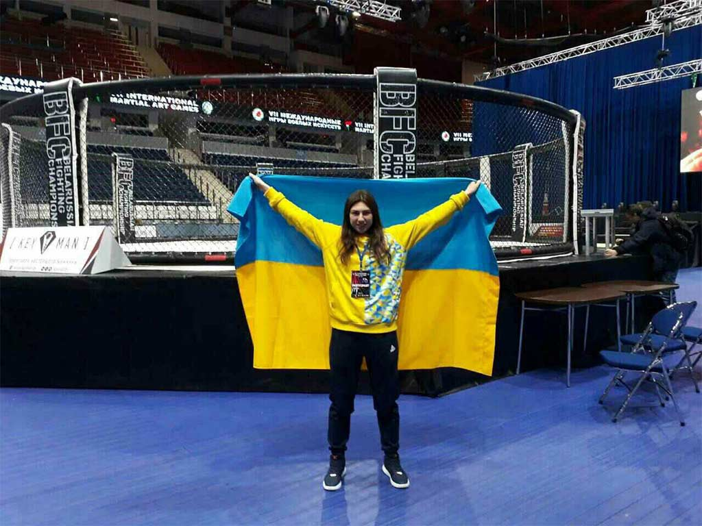 Курсантка університету Діана Приступа тріумфально перемогла на Чемпіонаті світу