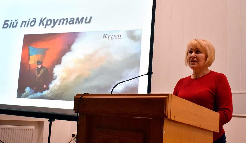 Бій під Крутами в сучасній українській історичній пам'яті