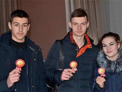 Під час розважального квесту школярі побували у ролі курсантів та студентів