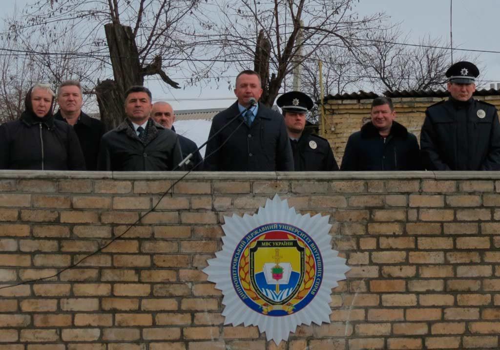 В Запорізькому центрі первинної професійної підготовки «Академія поліції»
