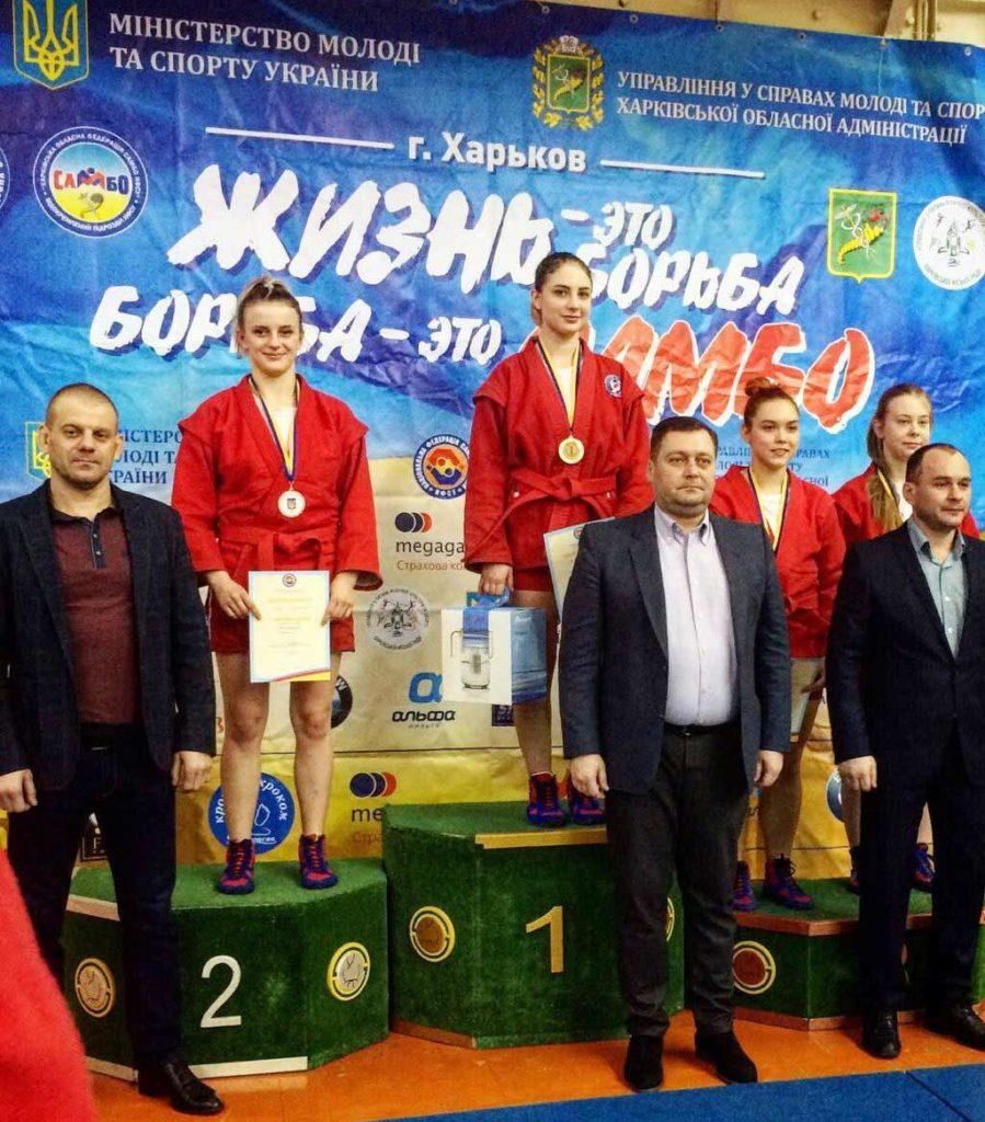 2 медалі на рахунку курсантів ДДУВС: Поліни Михайської та Дмитра Нагорного.