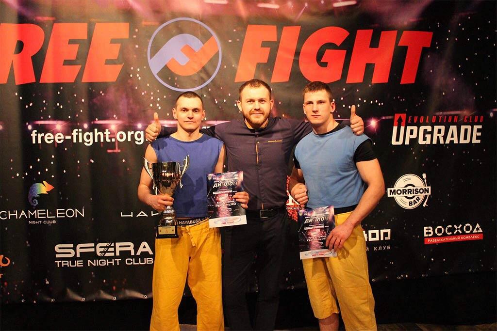Леонід Челахов – срібний призер Кубку України з фрі-файту
