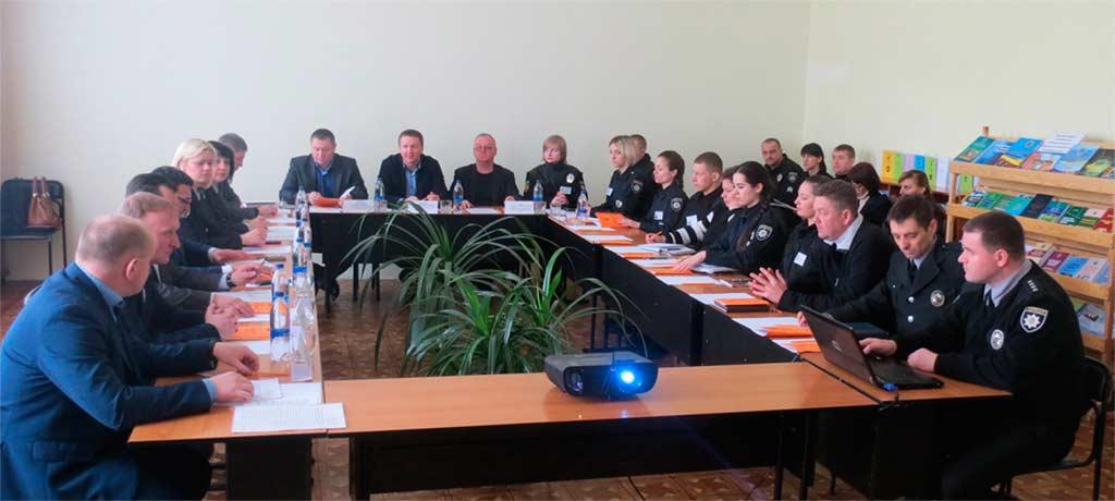 За круглим столом обговорили актуальні проблеми первинної професійної підготовки поліцейських