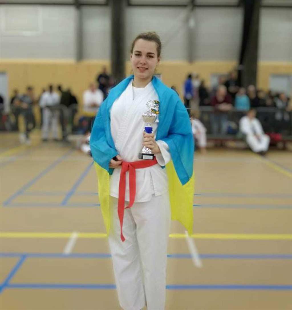Галина Волошина – срібна призерка Чемпіонату Європи з рукопашного бою