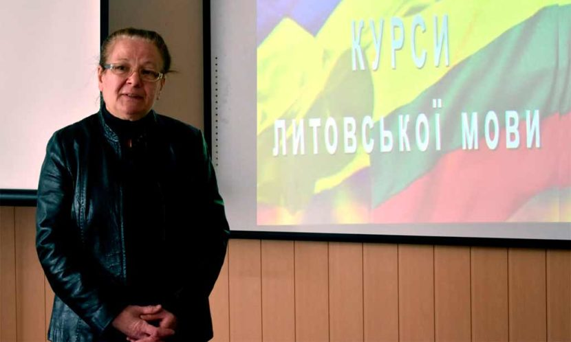 В університеті стартували курси з вивчення литовської мови