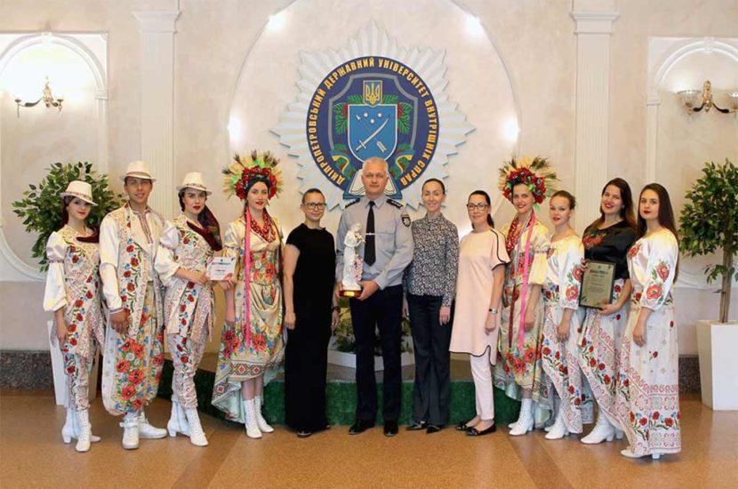Впевнена та яскрава перемога: ДДУВС – володар гран-прі міжвишівського фестивалю «Студентська весна-2018»