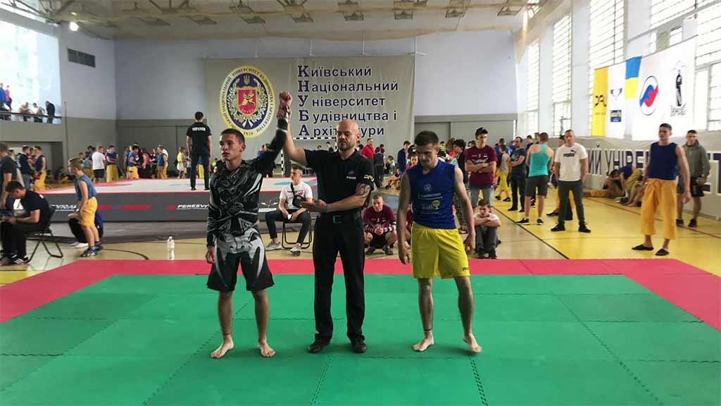 Фріфайтери університету – призери всеукраїнських змагань