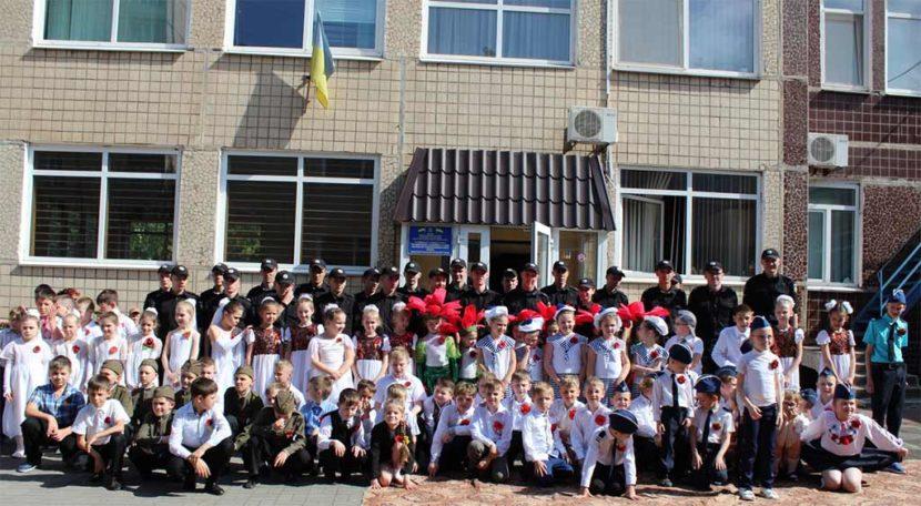 Курсанти Криворізького факультету відвідали своїх підшефними