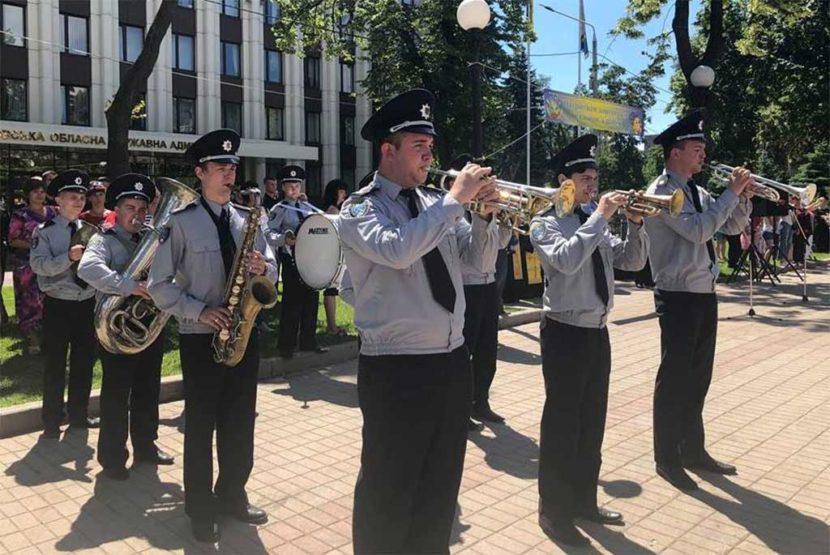 Участь в урочистій церемонії відкриття військово-патріотичної гри «Джура»