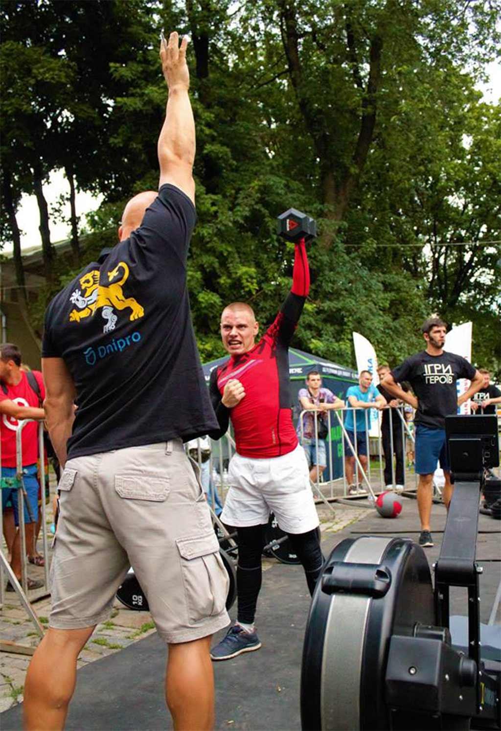 Нещодавно у Дніпрі пройшли змагання з функціонального багатоборства «Ігри Героїв».