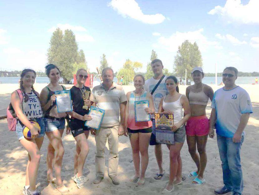 Жіноча збірна ДДУВС перемогла у турнірі з пляжного волейболу
