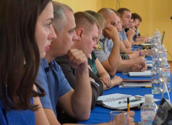 Круглий стіл на тему «Взаємодія працівників Національної поліції та адвокатів. Реалії та перспективи».
