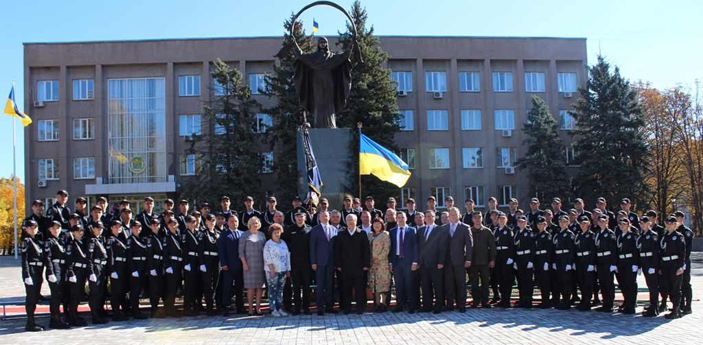 29 курсантів Криворізького факультету Дніпропетровського державного університету внутрішніх справ склали присягу на вірність українському народу.