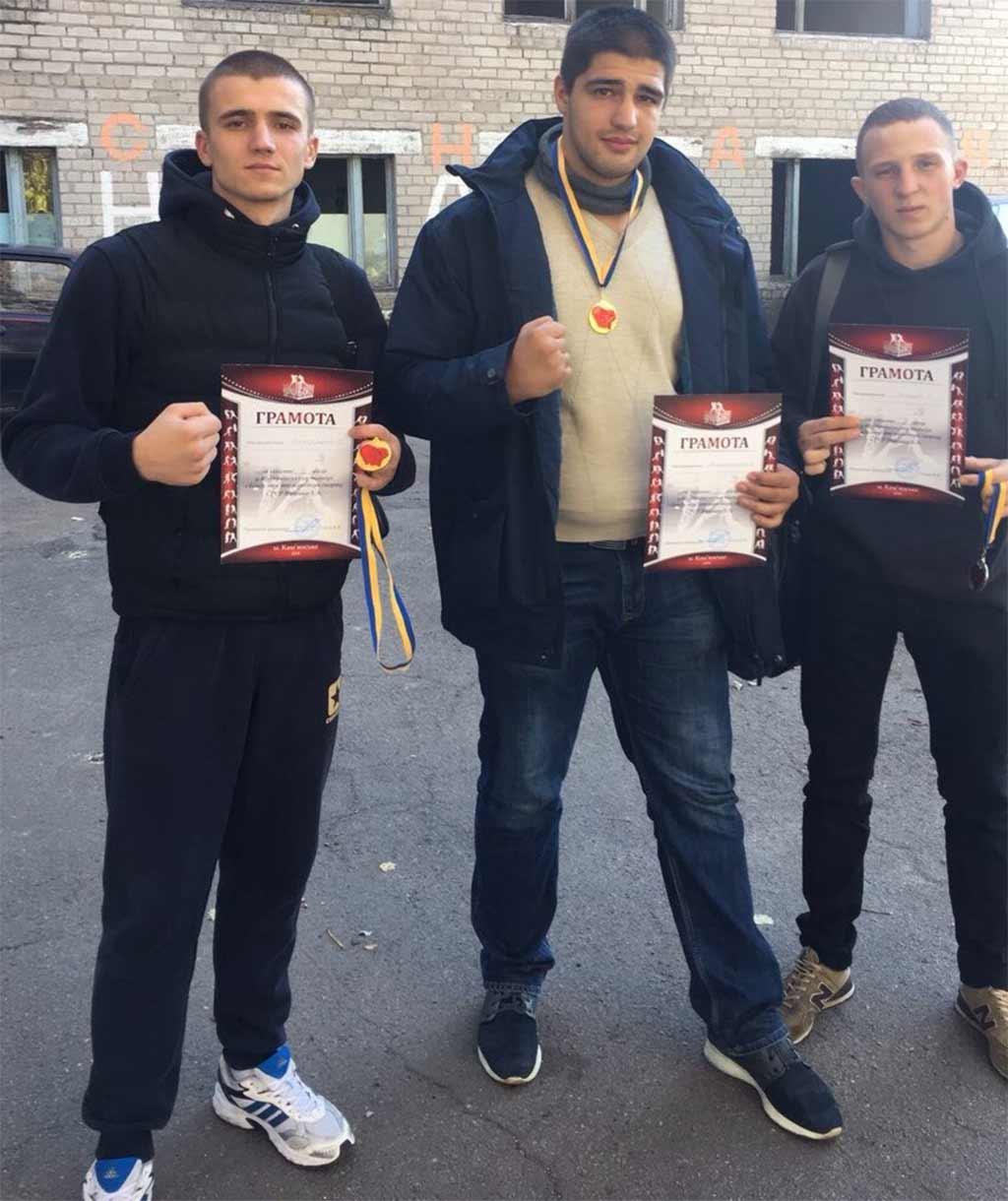 Боксери університету зі Всеукраїнських змагань привезли 2 золоті та 1 срібну медалі