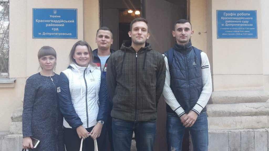 Студенти 4-го курсу відвідали Красногвардійський районний суд разом з викладачем