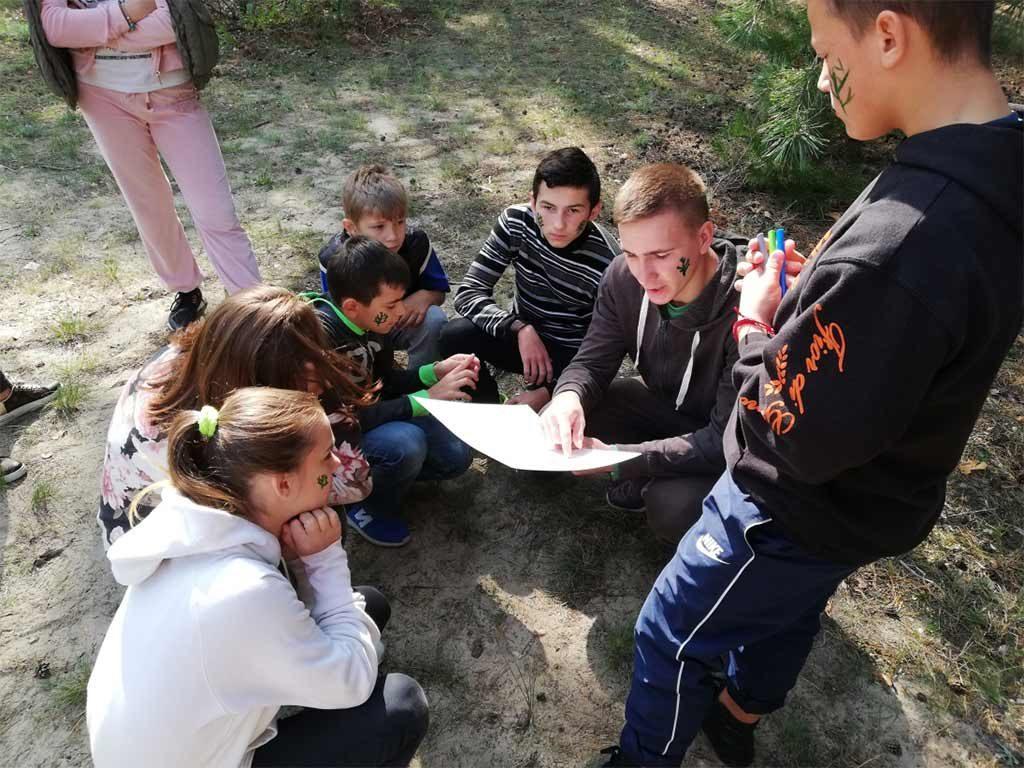 Вихованці інтернатного закладу КЗС «Центр соціальної підтримки дітей «Довіра» ДМР»