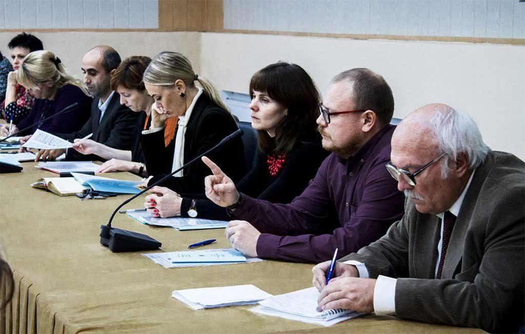 Засідання круглого столу, присвяченого Дню захисника України та Дню українського козацтва